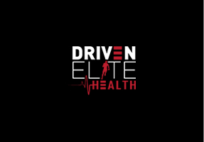 Driven Health White Logo